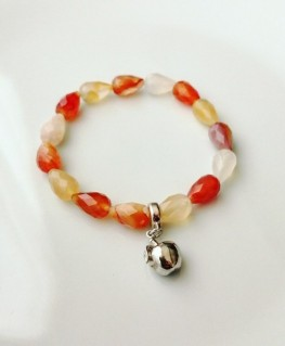 PULSERA APPLE CARNEOLA